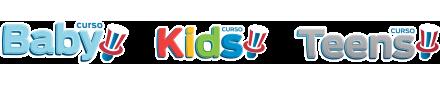 Logos Baby, Kids e Teens - Inglês Athus