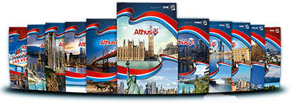 Livros da Trilogia - Inglês Athus