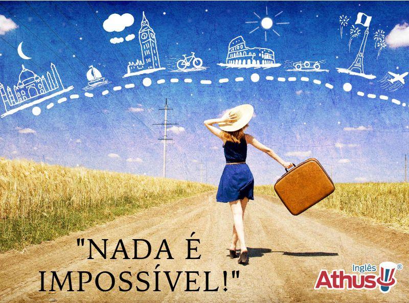 Saber Inglês pode mudar sua vida e realizar sonhos!