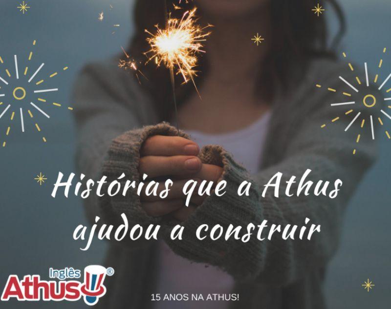 20 anos de Inglês e 15 anos na Athus!