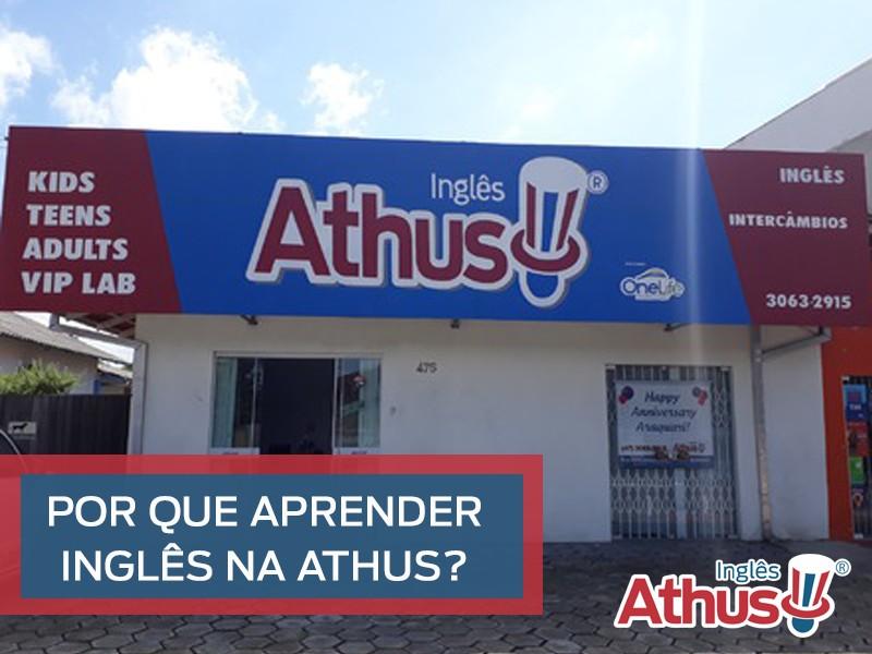 Por que aprender Inglês na Athus?